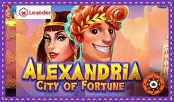 Lancement du jeu de casino Alexandria City Of Fortune