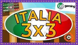 Lancement prochain du jeu de casino Italia 3x3