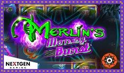 Lancement prochain du nouveau jeu Merlin's Moneyburst