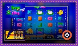 Lightning Box Games annonce le jeu Frogs 'n Flies Temple Cash
