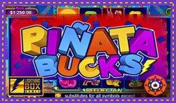 Lightning Box présente le jeu de casino Piñata Bucks