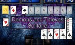 logo de Demons and Thieves Solitaire