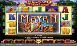 logo de Mayan Riches