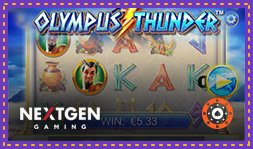 Machine à sous Olympus Thunder de NextGen Gaming disponible
