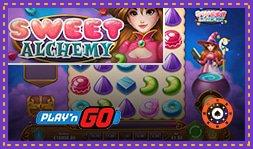 Machine à sous Sweet Alchemy de Play'n Go disponible