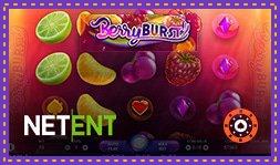 Machine à sous Berryburst disponible en août