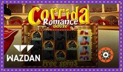 Machine à sous Corrida Romance Deluxe de Wazdan déjà disponible