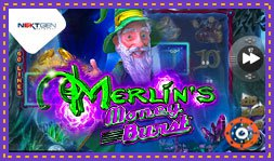 Merlin's Money Burst : Jeu de casino signé NextGen