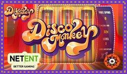 NetEnt dévoile le jeu de casino Disco Monkey
