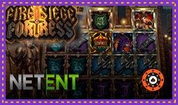 NetEnt lance le nouveau jeu de casino Fire Siege Fortress