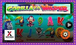 NextGen Gaming annonce le Jeu de casino Gorilla Go Wilder
