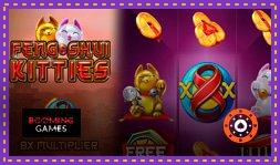 Nouveau jeu de casino Feng Shui Kitties lancée