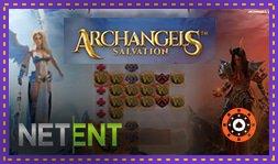 Nouvelle machine à sous Archangels Salvation de NetEnt