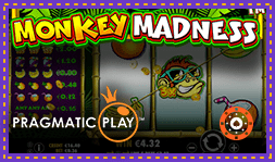 Nouvelle machine à sous Monkey Madness de Pragmatic Play