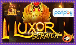 Pariplay a dévoilé le jeu de casino Luxor Scratch