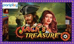 Pariplay lance le jeu de casino Jack's Treasure