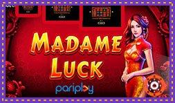 Pariplay vient de lancer le jeu de casino Madame Luck