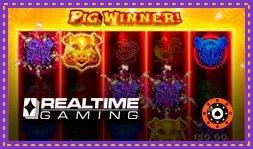 Pig Winner : Jeu gratuit de casino en ligne signé RTG