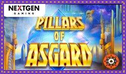 Jeu de casino Pillars Of Asgard de NextGen vient d'être lancé