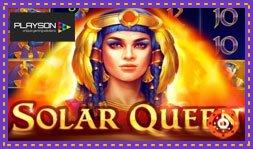 Playson présente le jeu de casino Solar Queen