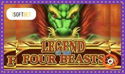 Présentation du jeu de casino Legend of the Four Beasts