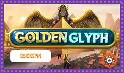 Profitez dès maintenant du nouveau jeu de casino Golden Glyph