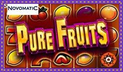 Pure Fruits : Jeu de casino de Novomatic