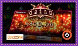 Quickspin annonce le nouveau jeu de casino The Grand