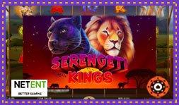 Serengeti Kings : Jeu de casino Net Entertainment