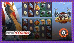 Sortie imminente de la machine à sous Viking Clash de Push Gaming