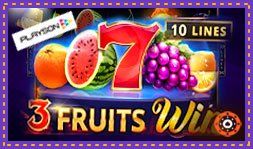 Sortie du jeu de casino 3 Fruits Win : 10 Lines