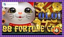 Sortie du jeu de casino 88 Fortune Cats de Spinomenal