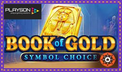 Sortie du jeu de casino Book Of Gold: Symbol Choice de Playson