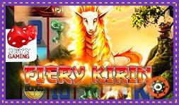 Sortie du jeu de casino Fiery Kirin de 2by2 Gaming