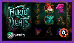 Sortie du jeu de casino Fairie Nights de 1x2 Gaming