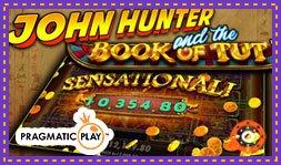 Sortie du jeu de casino John Hunter and the Book of Tut