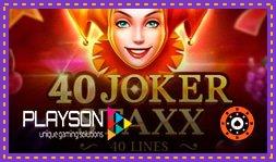 Sortie de jeu de casino : Joker Expand 40 Lines