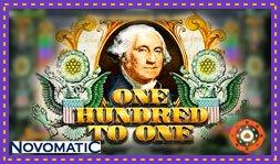Sortie de jeu de casino : One Hundred To One