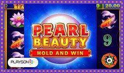 Sortie du jeu de casino Pearl Beauty de Playson