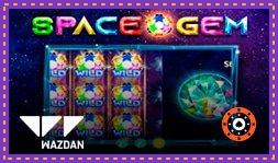 Sortie de jeu de casino : Space Gem de Wazdan