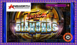 Sortie du jeu de casino Twice The Diamonds