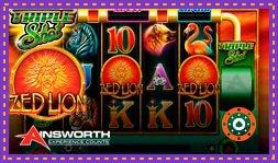 Sortie de jeu de casino : Zed Lion : Triple Shot