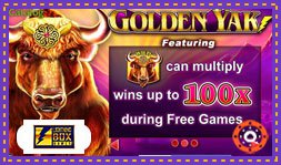 Sortie du jeu en ligne Golden Yak de Lightning Box