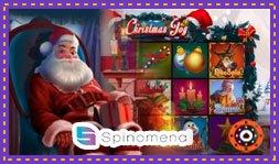Spinomenal démarque avec le jeu de casino Christmas Joy