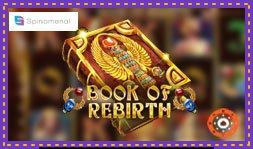 Spinomenal lance le jeu de casino Book Of Rebirth Reloaded