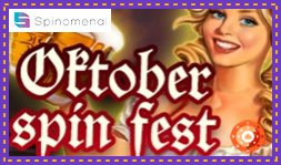 Spinomenal lance le jeu de casino October Spin Fest
