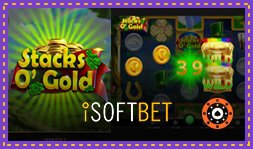 Stacks O' Gold : Nouvelle machine à sous de iSoftBet