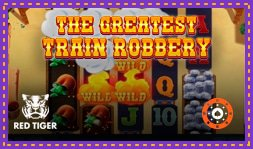 The Greatest Train Robbery : Jeu de casino de Red Tiger Gaming