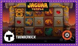 Thunderkick lance bientôt la machine à sous Jaguar Temple