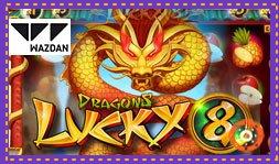 Wazdan dévoile son jeu de casino Dragons Lucky 8
